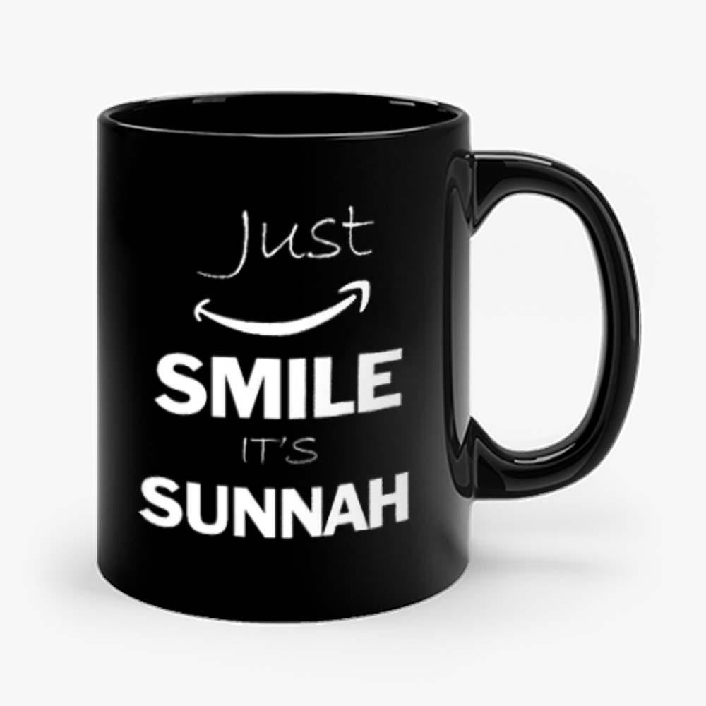 Just Smile Its Sunnah Arabic Islam Muslim Mug