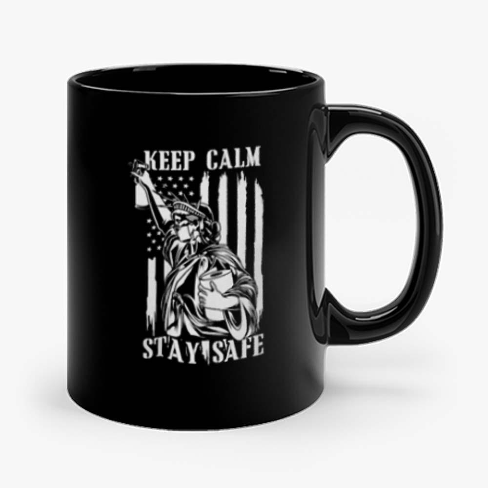Keep Calm Stay Safe Mug
