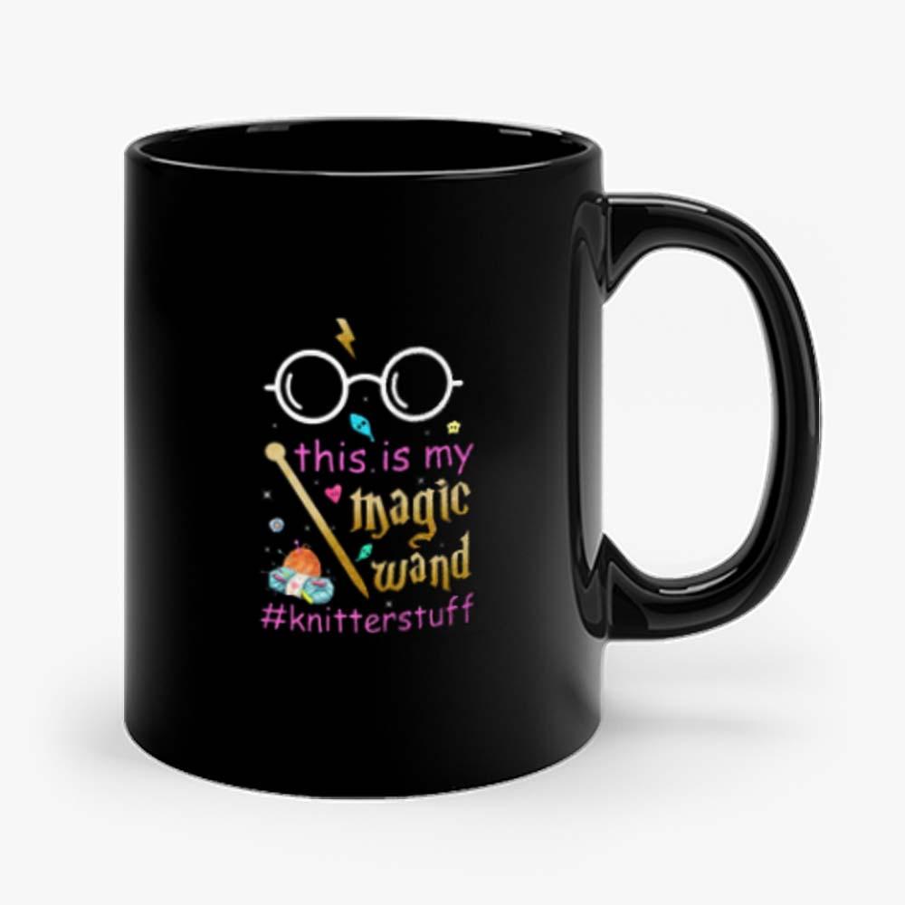 Knitter This Is My Magic Wand Knitterstuff Funny Mug
