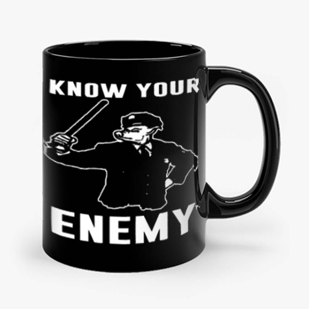 Know Your Enemy Pork Police Mug
