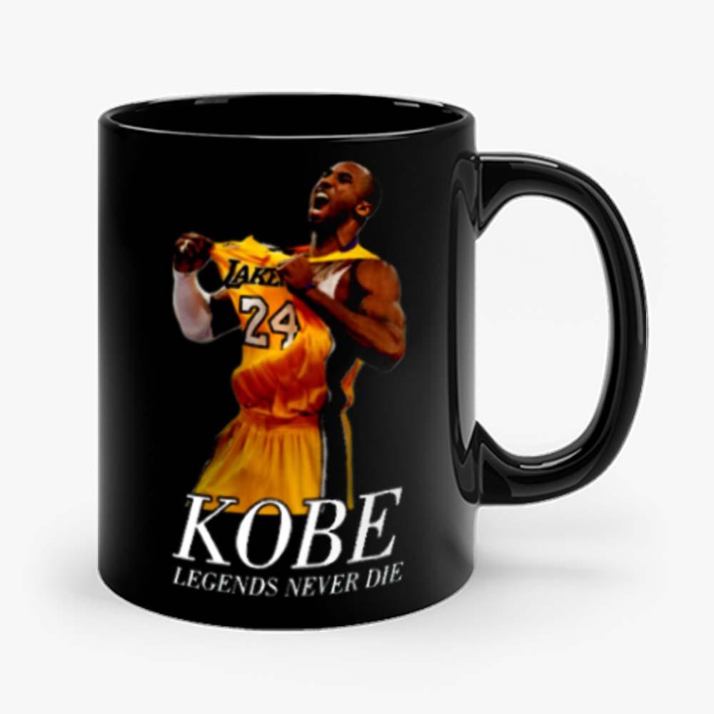 Kobe 24 Bryant Black Mamba Legend Forever Mug