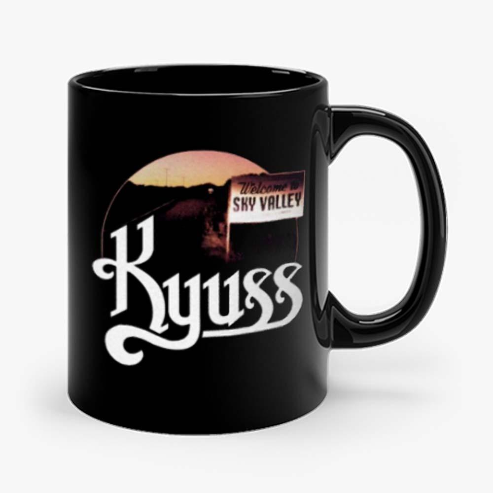 Kyuss Welcome to Sky Valley t Doom Stoner Metal Rock Band Tee Mug