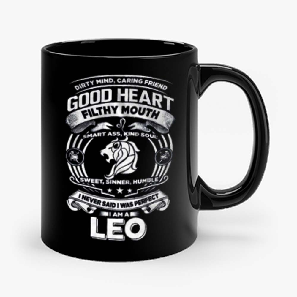Leo Good Heart Filthy Mount Mug