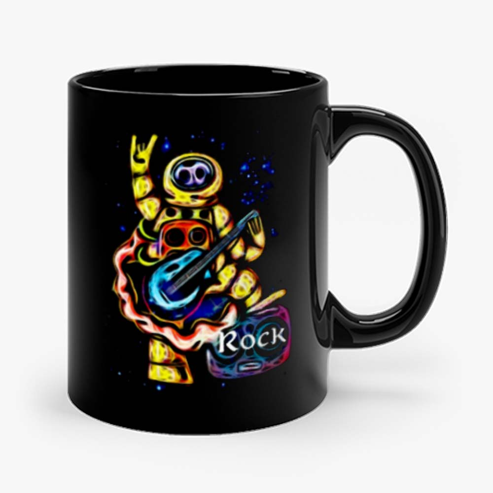 NASA Spaceman Rock Metal Horns Mug