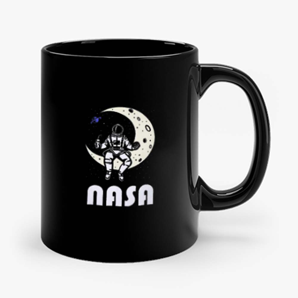 Nasa Astronaut Moon Space Mug