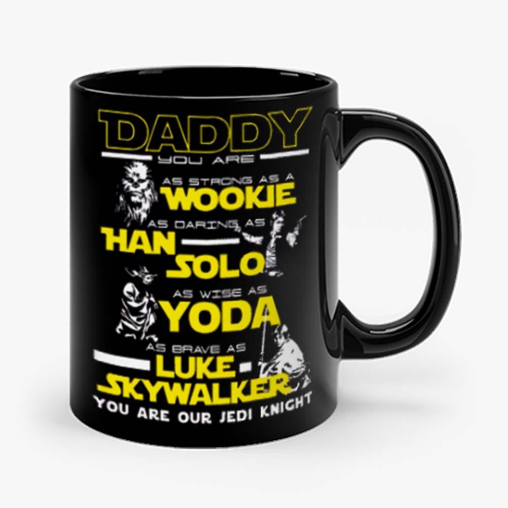 New Daddy Star Wars Jedi Father Day Mug