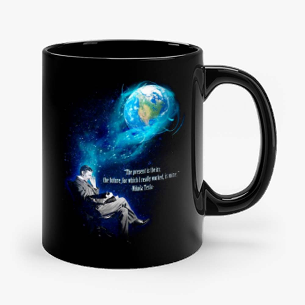 Nikola Tesla Tesla Dream Free Energy Mug