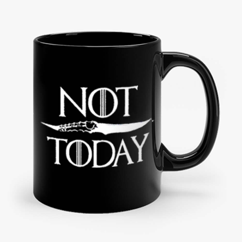 Not Today Dagger Mug