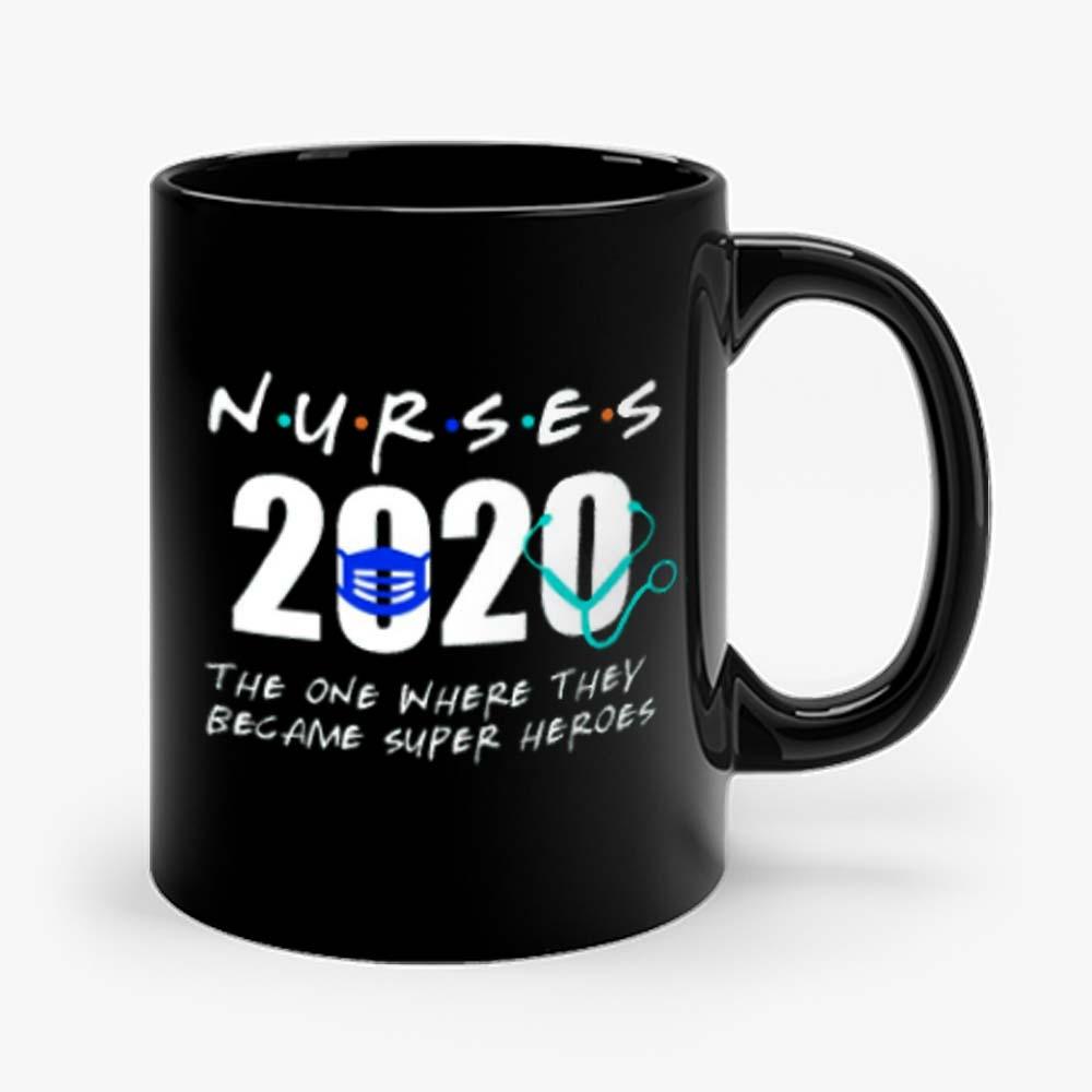 Nurses Became Super Hero Mug