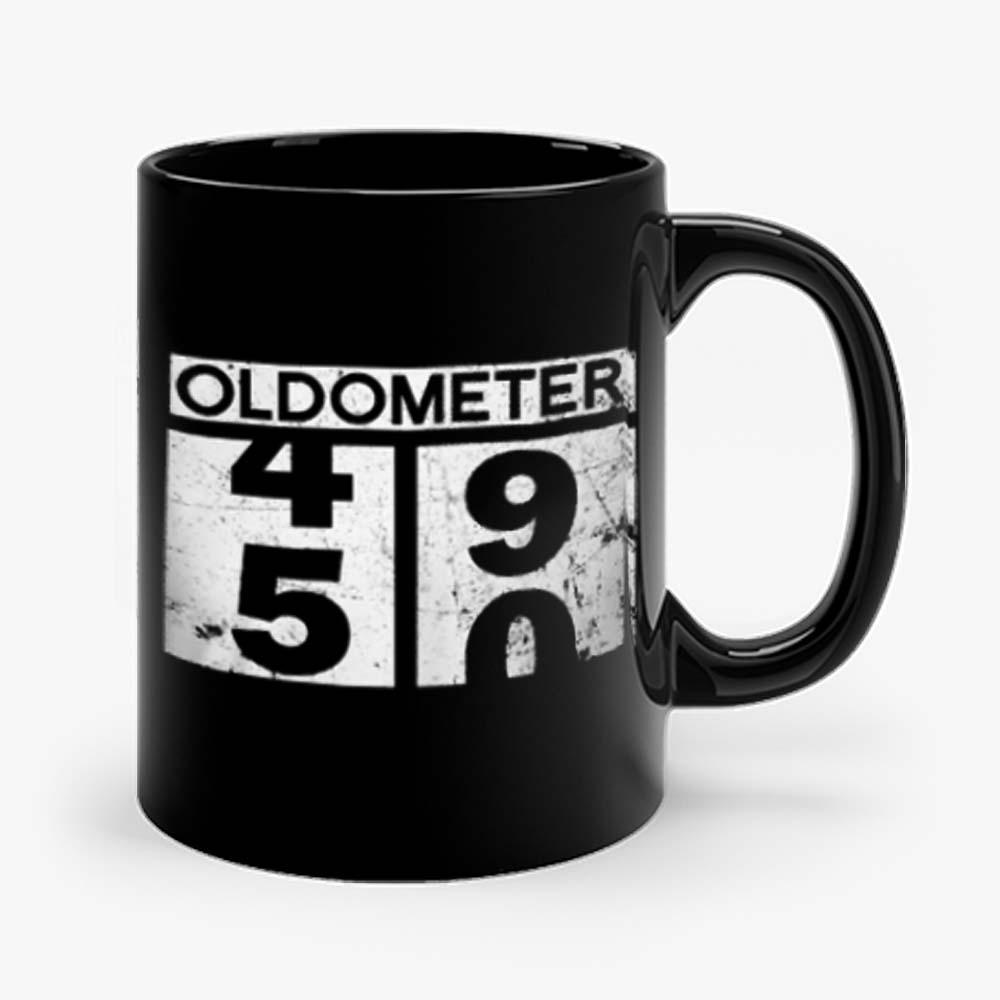 Oldometer 50th Birthday Counting 49 50 Mug