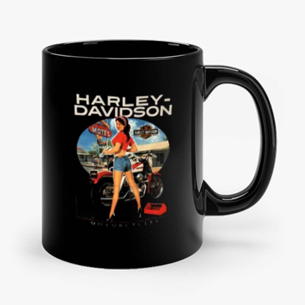 Sexy Girl Harley Davidson Mug