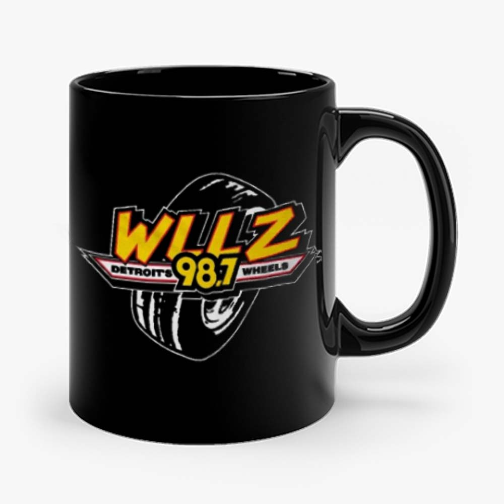 WLLZ Detroits Wheels Mug