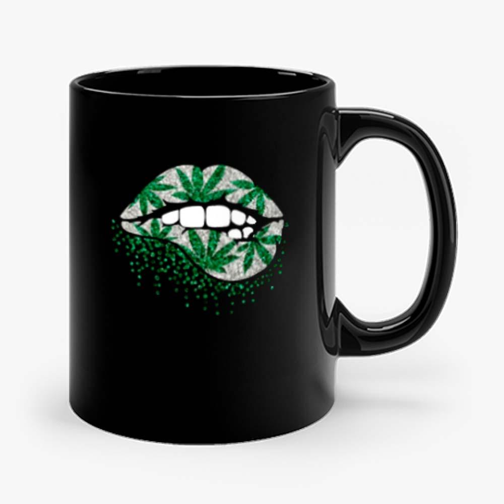 Weed Lips Cannabis Mug
