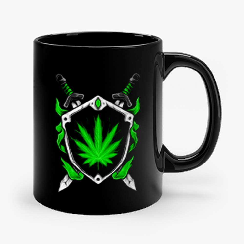 Weed Shield Cannabis Pot Funny Design 2020 gift top Mug