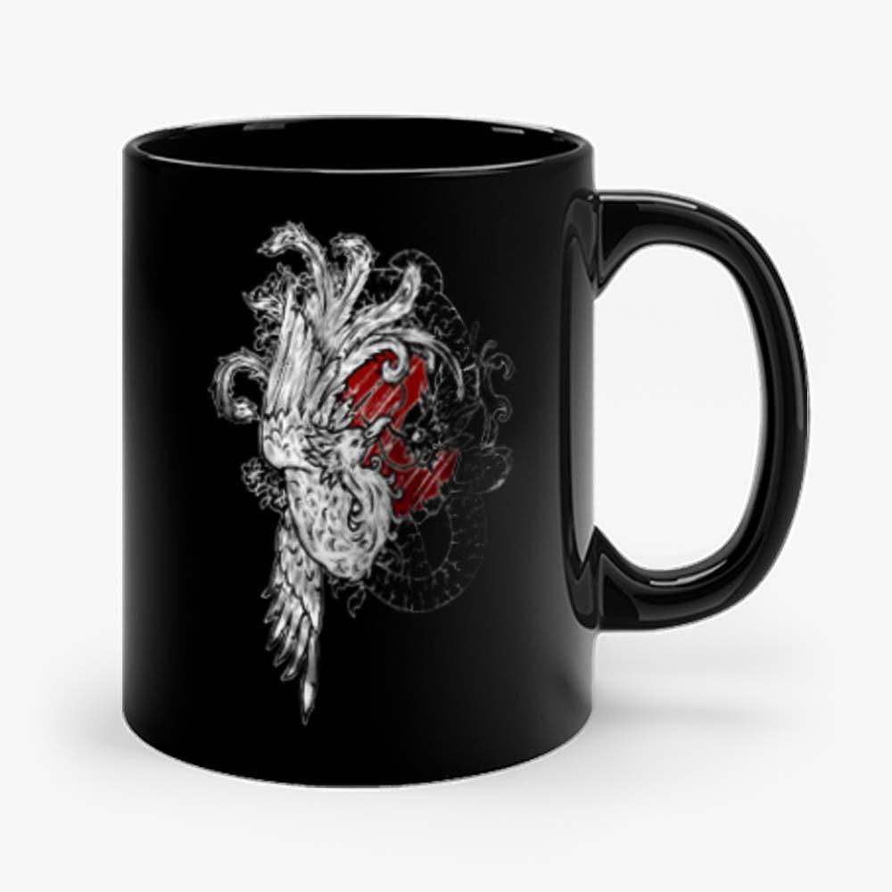 Wellcoda Yin Yang Beast Fantasy Mug