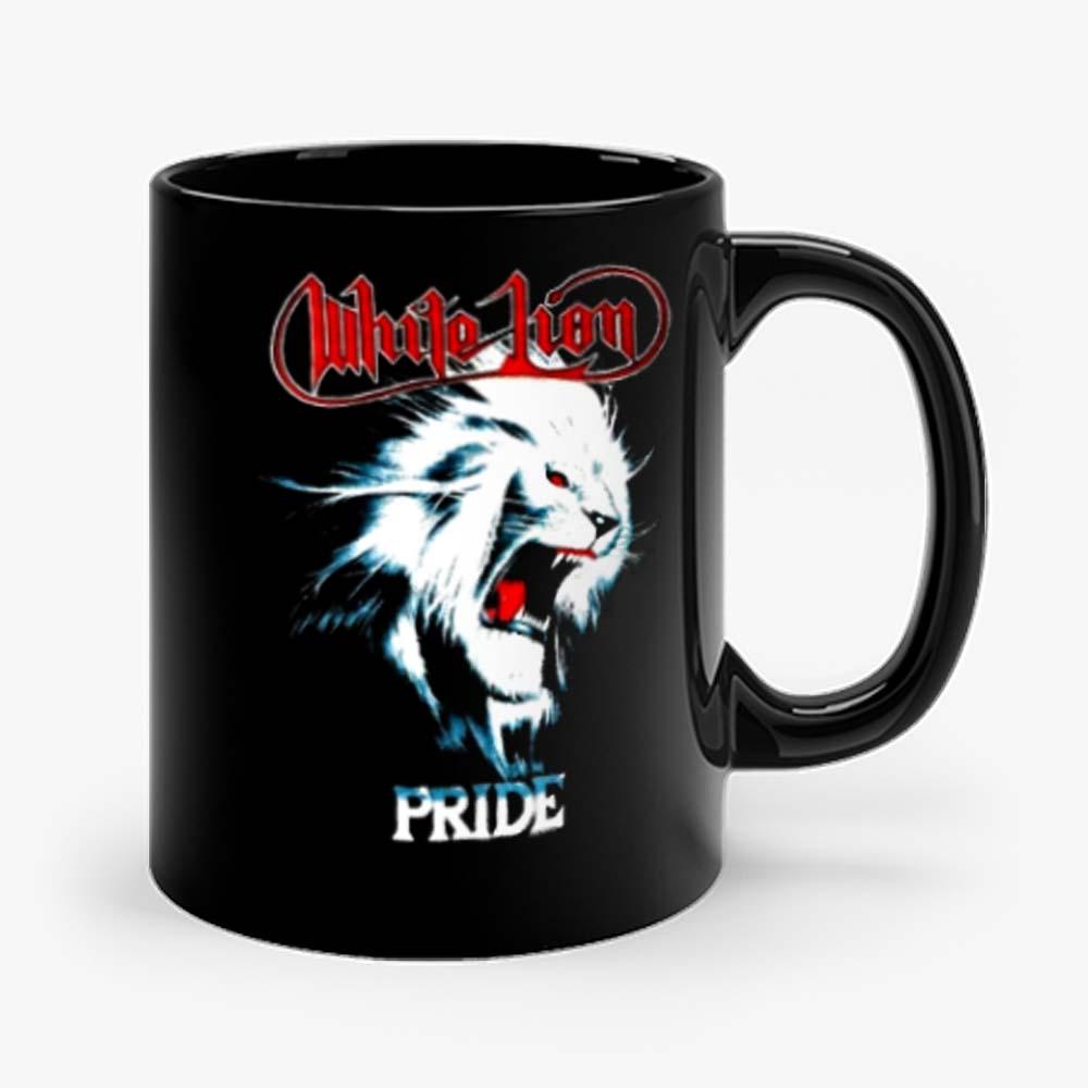 White Lion Band Pride Heavy Metal Hard Rock Band Mug