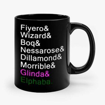 Wicked the musical Mug