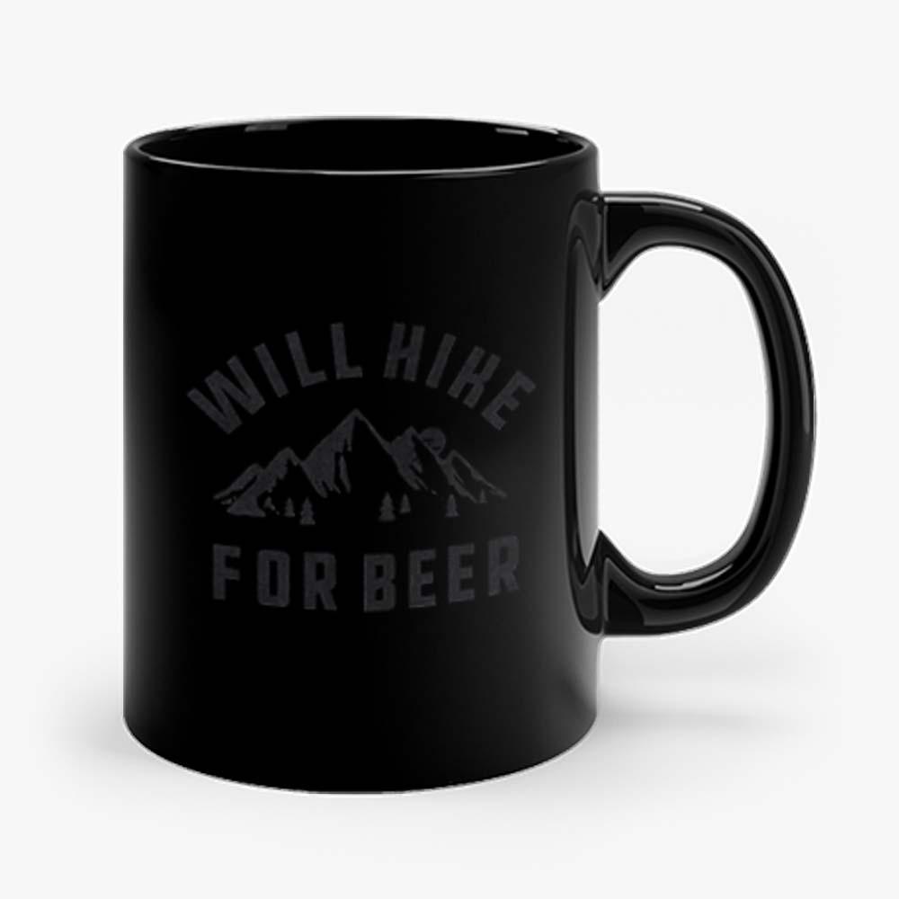 Will Hike For Beer Mug