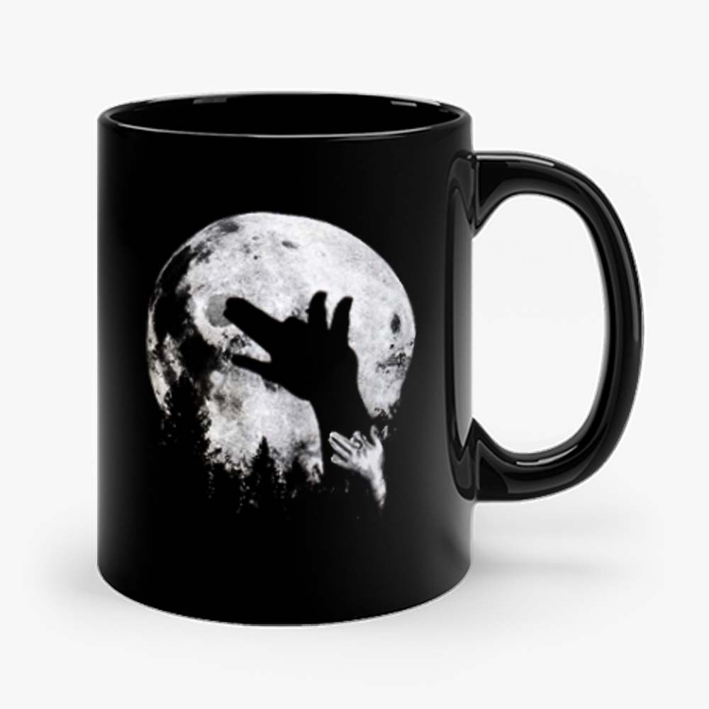 Wolf Shadow Puppet Unique Moon Outdoor Hike Camp Mug