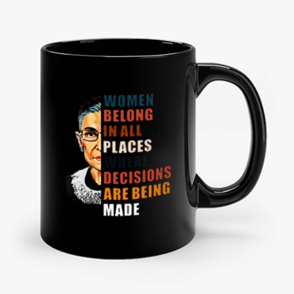 Women Belong In All Places Mug