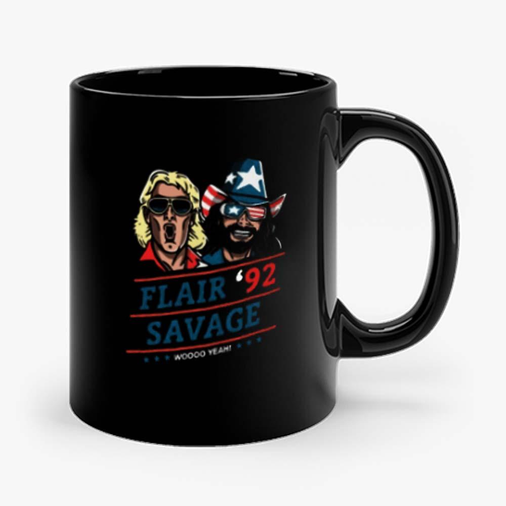 Woo Yeah Flair Savage Retro Mug