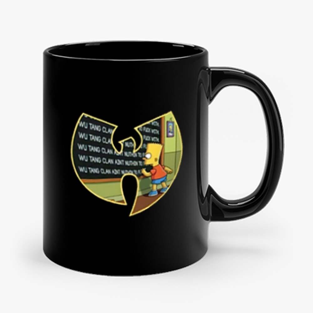Wu Tang Clan Bart Simpson Mug