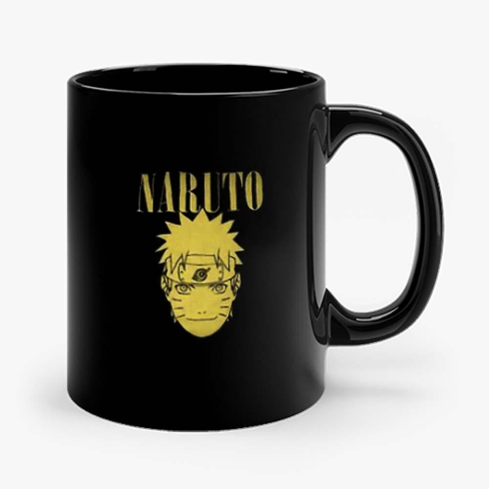 Yellow Naruto Shippuden Anime Mug
