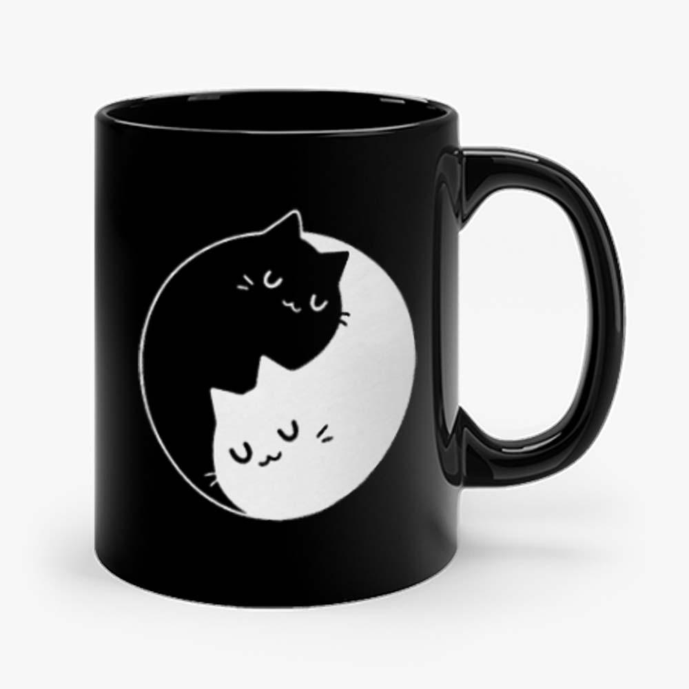 Yin Yang Cats Mug