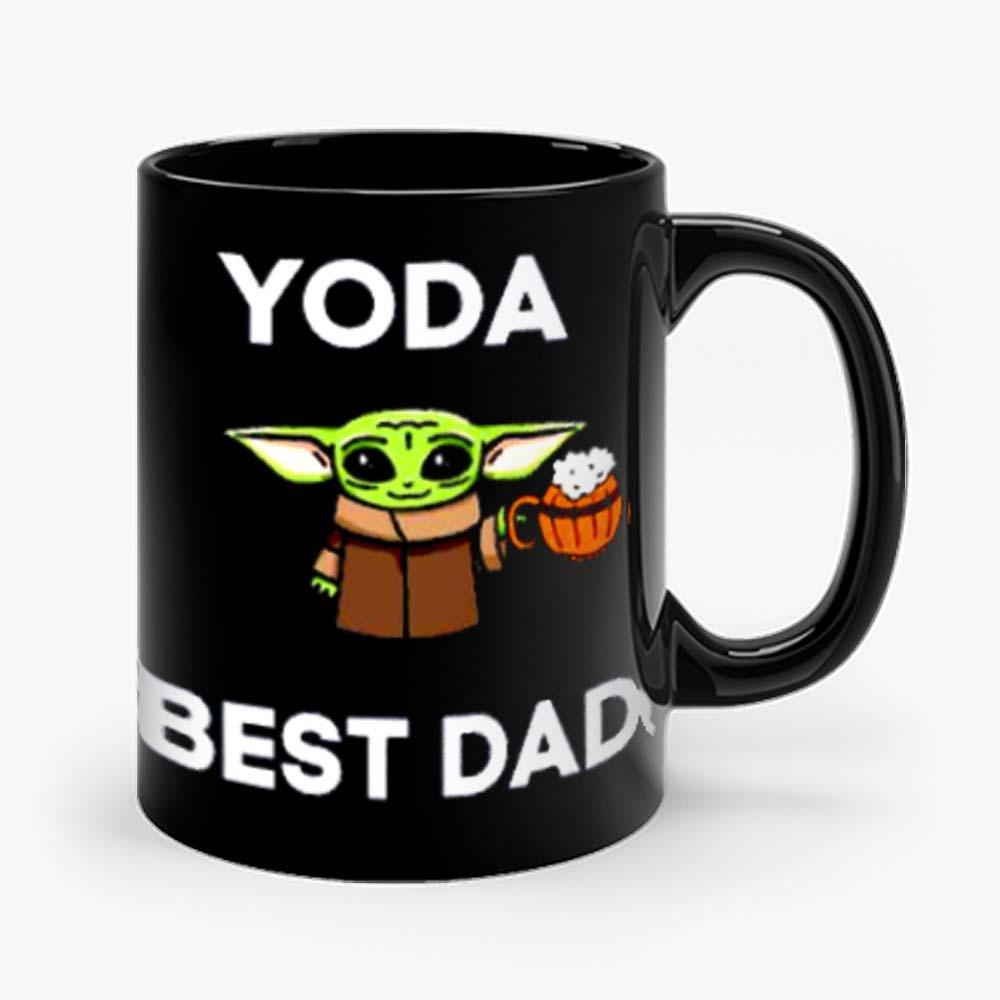 Yoda Best Dad Baby Yoda Take A Beer Funny Star Wars Parody Mug