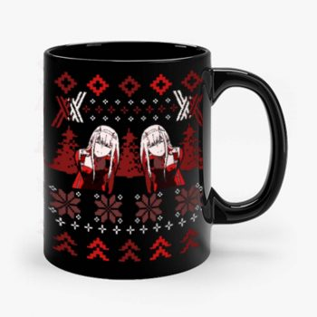 Zero Two Christmas Darling in the Franxx Mug