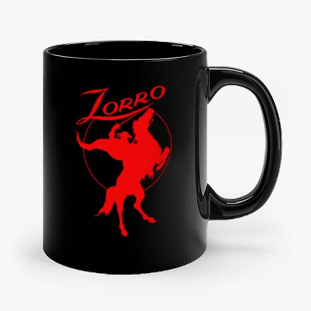 Zorro Red Horse Movie Character Mug