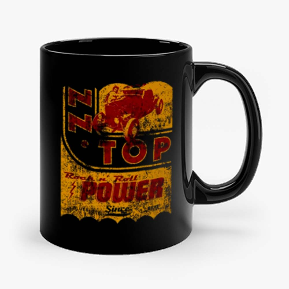 Zz Top Oil Power Band Mug