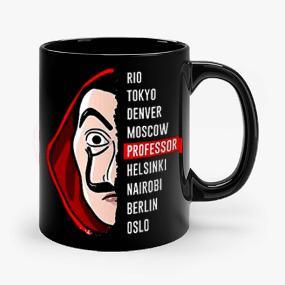 la Casa de Papel Money Heist Mug