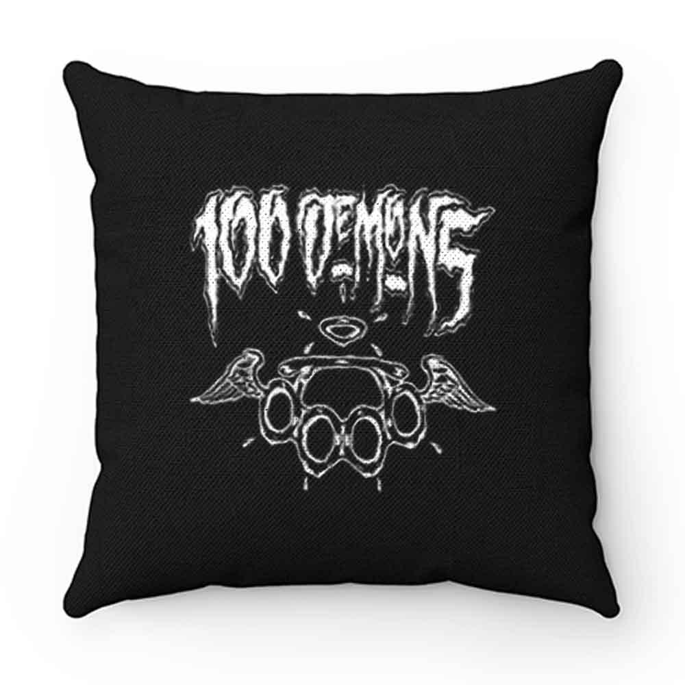 100 Demons Hardcore Punk Band Pillow Case Cover