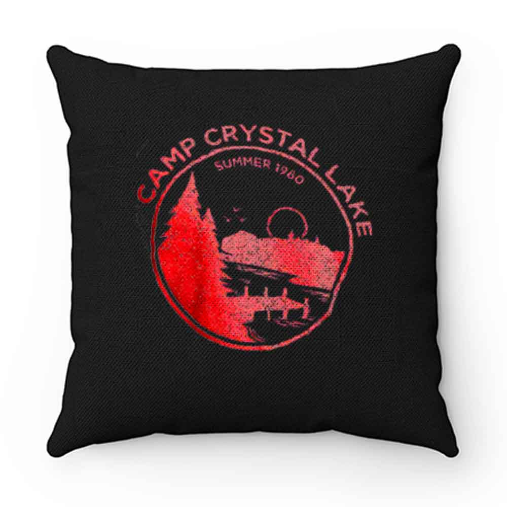 1980 Camp Crystal Lake Counselor Pillow Case Cover