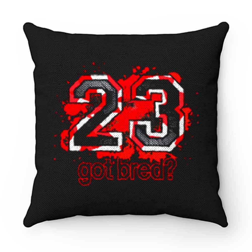 23 Got Bred Match Retro Air Jordan Pillow Case Cover
