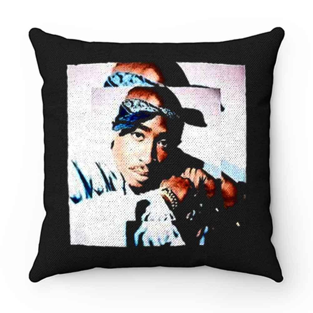 2pac Blues Tupac Portrait Pillow Case Cover
