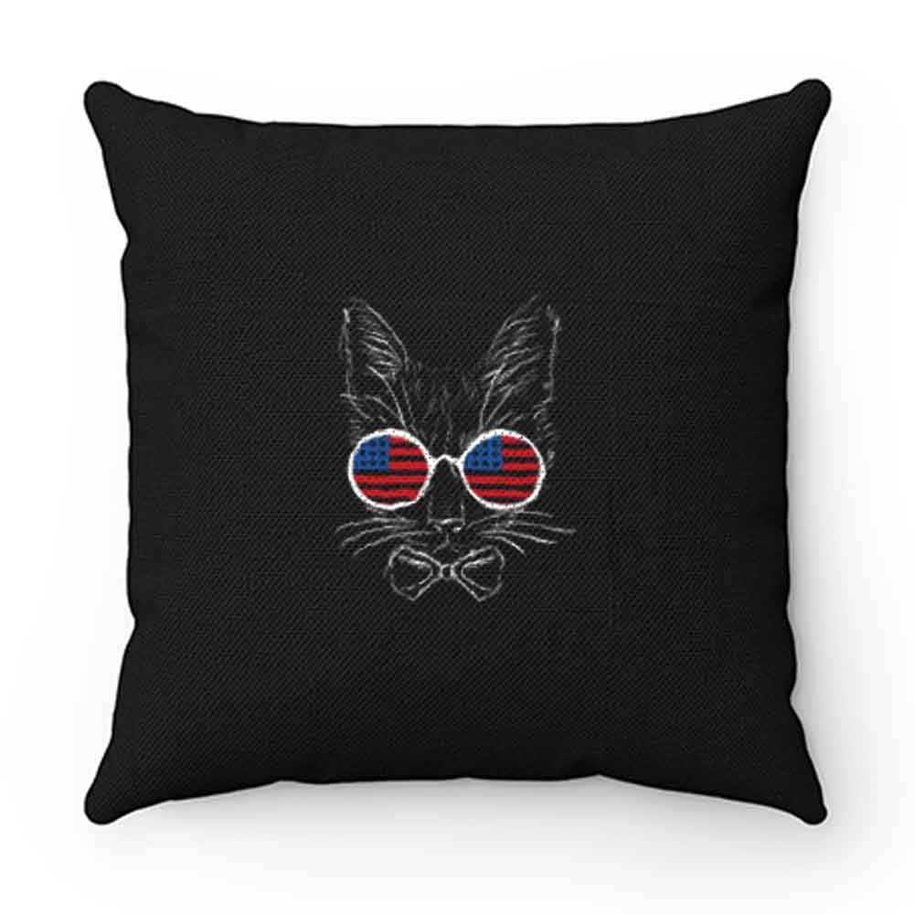 4th July American Flag Pillow Case Cover