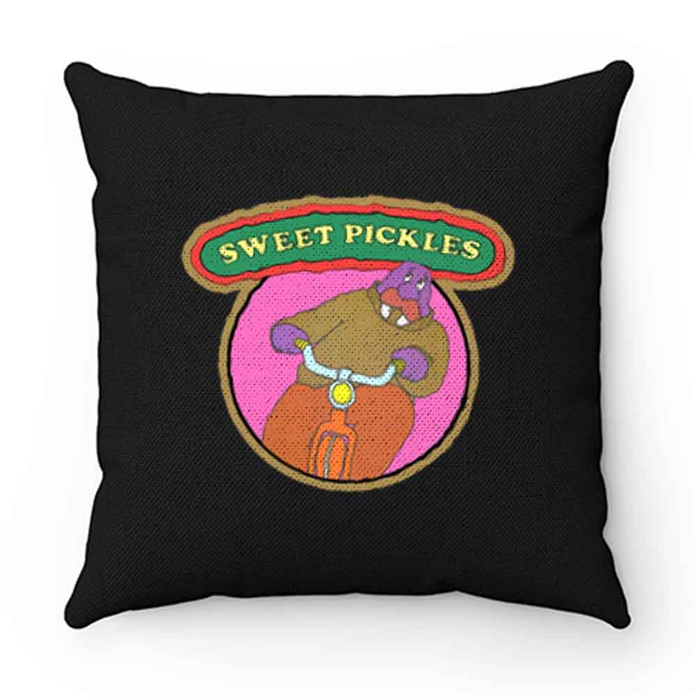 70s Pop Culture Classic Sweet Pickles Worried Walrus Pillow Case Cover