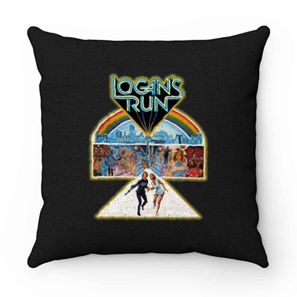 70s Sci Fi Classic Logans Run Poster Art Pillow Case Cover