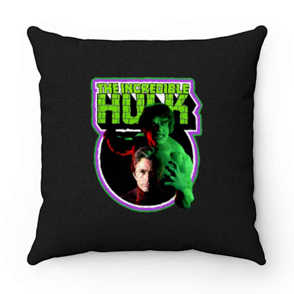 70s Tv Classic The Incredible Hulk Poster Art Pillow Case Cover