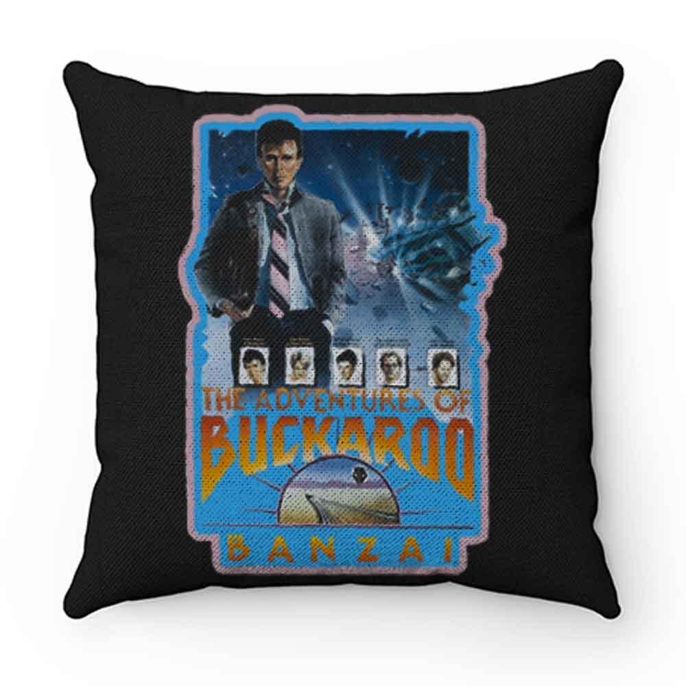 80s Classic Adventures of Buckaroo Banzai Pillow Case Cover