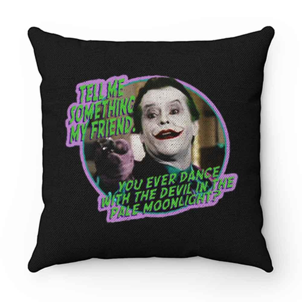 80s Classic Batman The Joker Dance With the Devil Pillow Case Cover