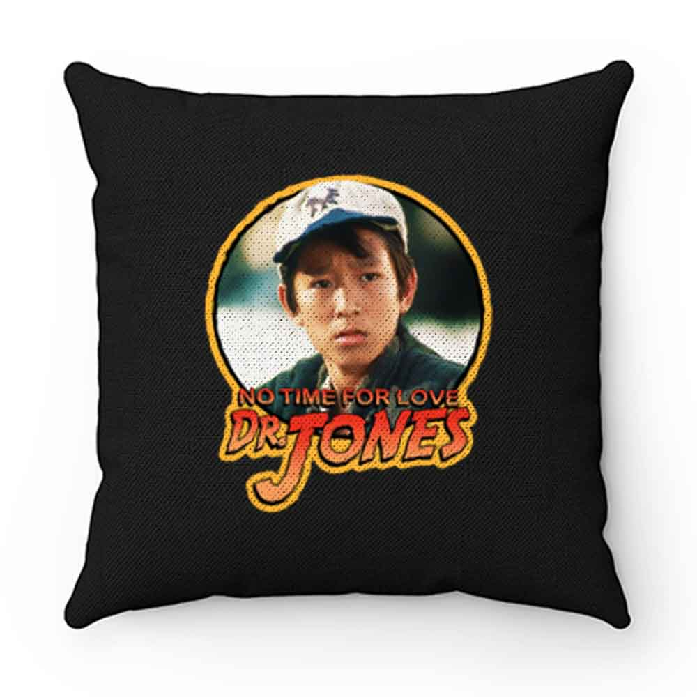 80s Classic Indiana Jones The Temple Of Doom Short Round No Time Pillow Case Cover