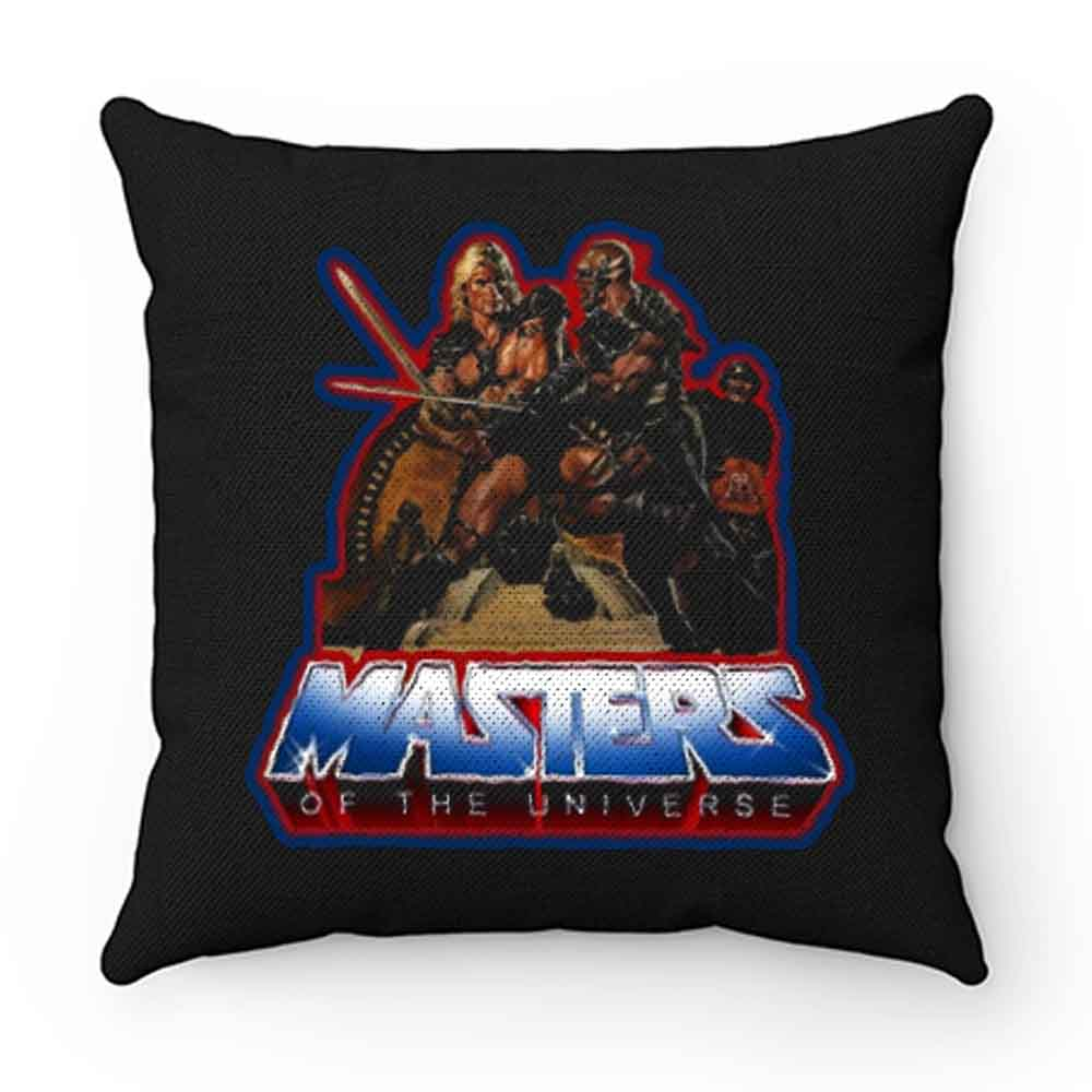 80s Classic Masters of the Universe He Man And Blade Pillow Case Cover