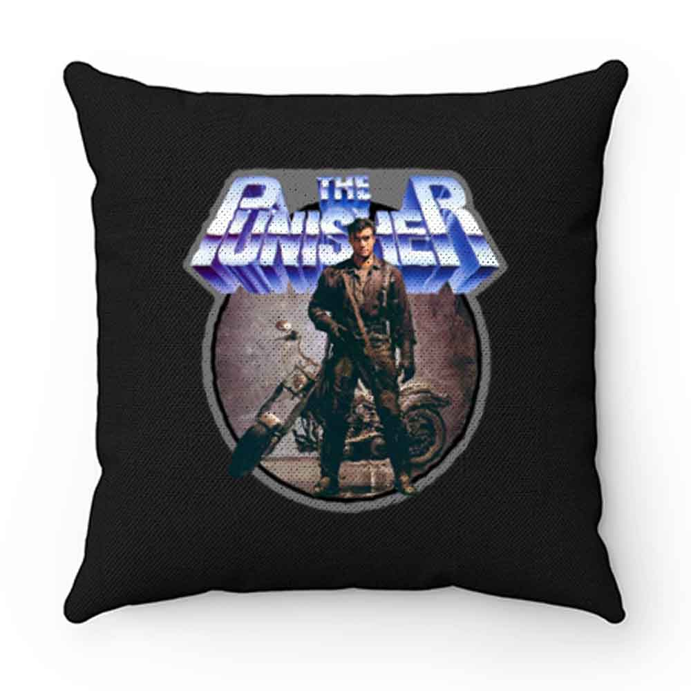 80s Comic Classic The Punisher Poster Art Pillow Case Cover