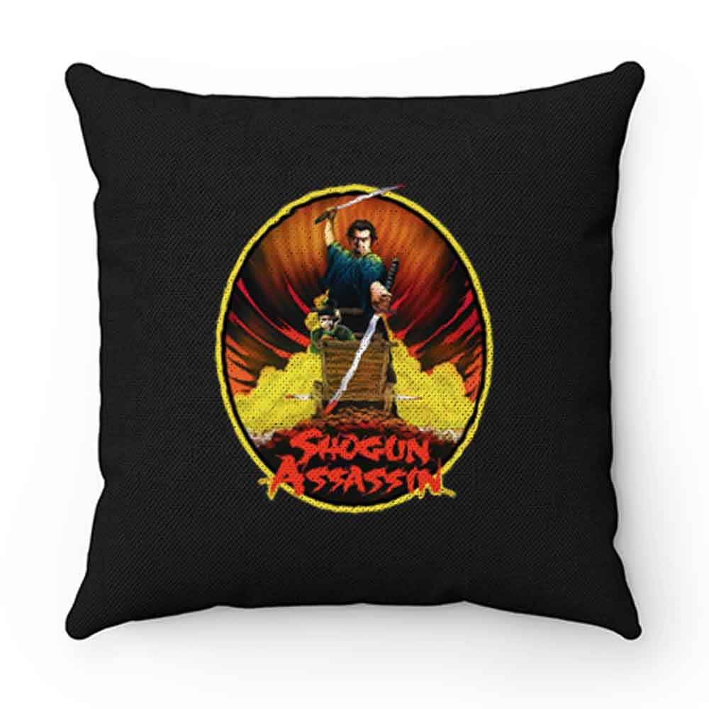 80s Samurai Classic Shogun Assassin Lone Wolf Cub Poster Art Pillow Case Cover