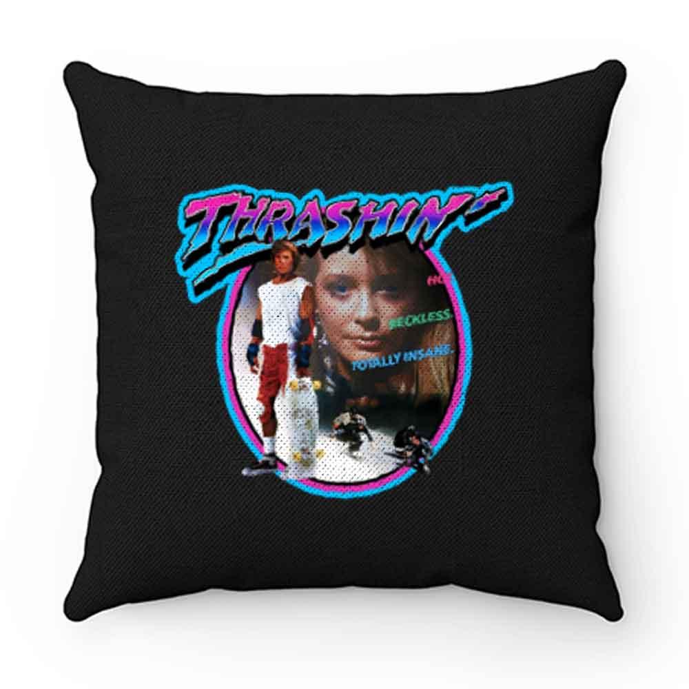 80s Skateboarding Classic Thrashin Poster Art Pillow Case Cover