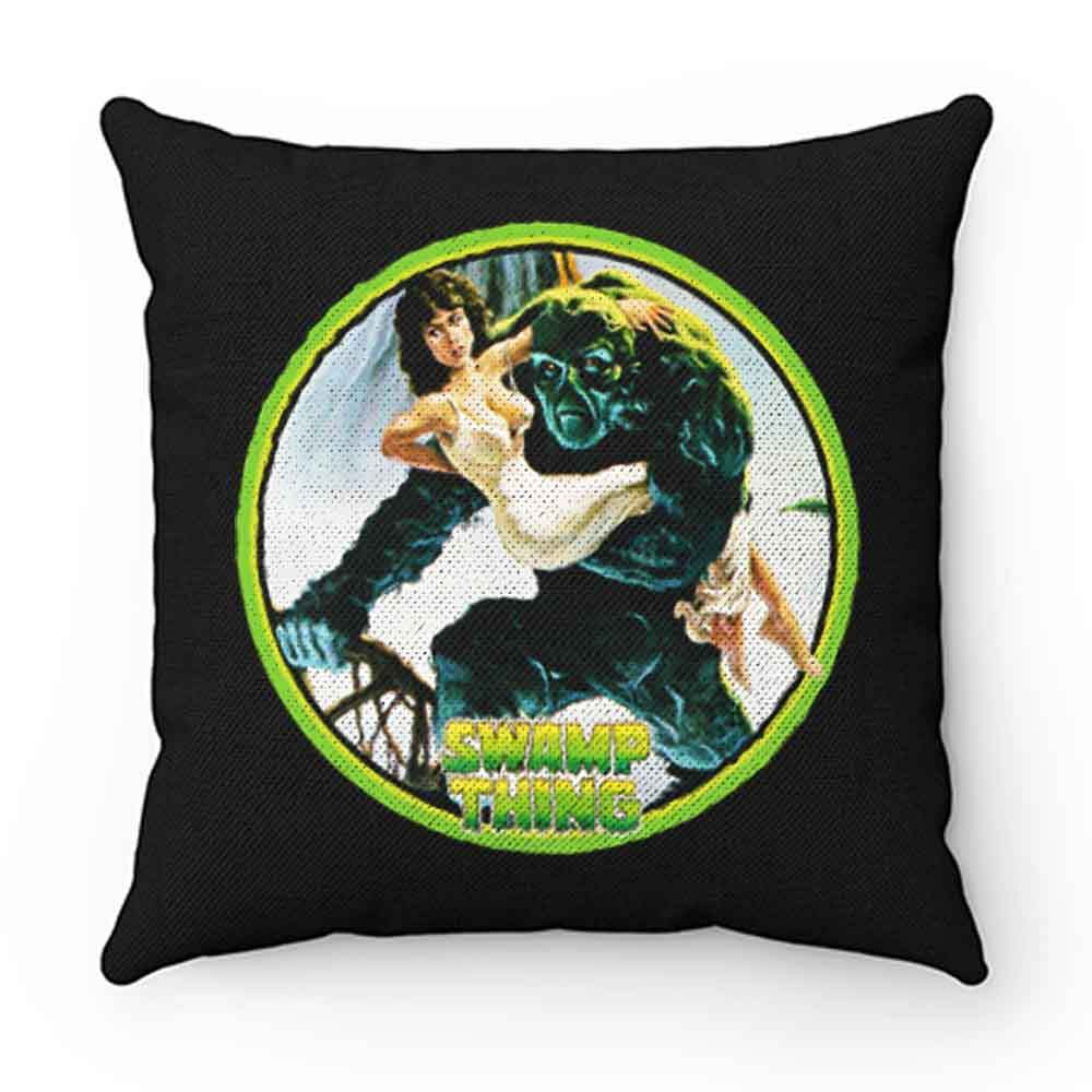 80s Wes Craven Classic Swamp Thing Pillow Case Cover