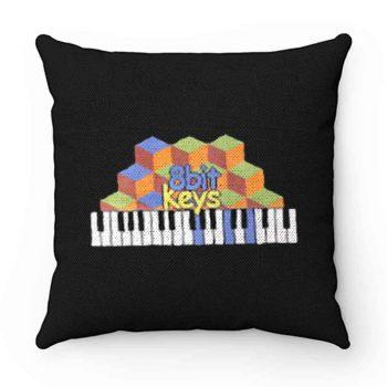 8bit Keys Piano Classic Retro Pillow Case Cover